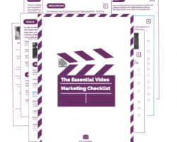 Essential Video Marketing Checklist Cover Image