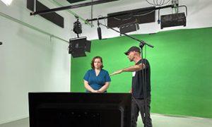 Angela Directing
