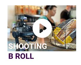 shooting b roll